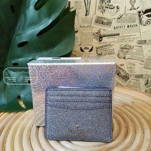 Kate Spade Boxed Small Slim Card Holder Dusk Navy